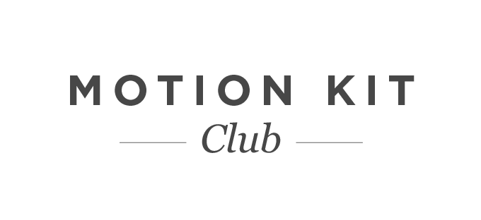 Motion Kit Club